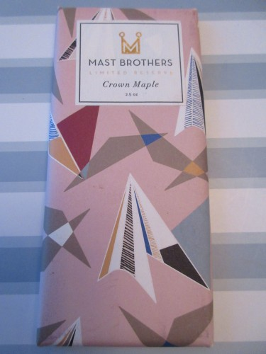Mast Brothers Crown Maple Chocolate
