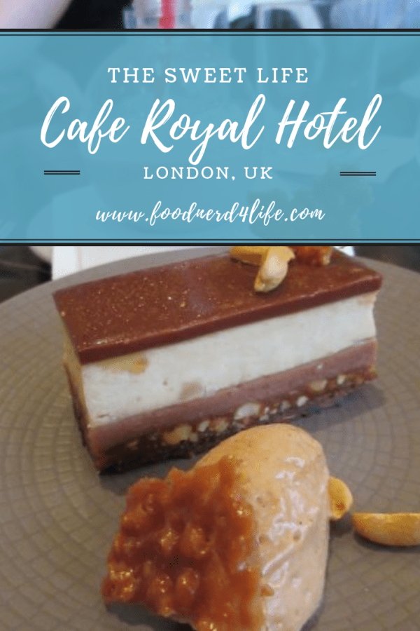 Cafe Royal Hotel Pin