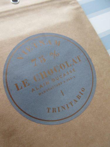 Alain Ducasse 75% Vietnam Chocolate Bar