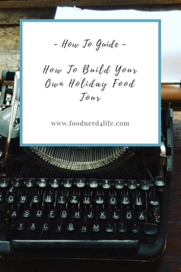 Build a Food Tour Pin