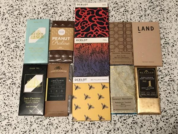 Craft Chocolate Bars