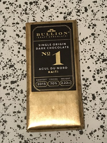 Bullion Chocolate Bar
