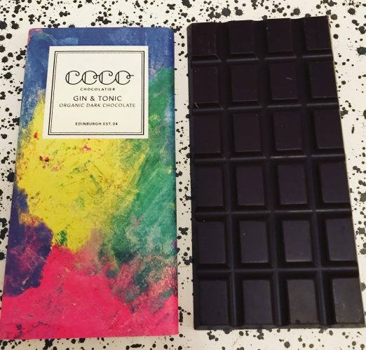 Coco Chocolatier Gin and Tonic Chocolate Bar