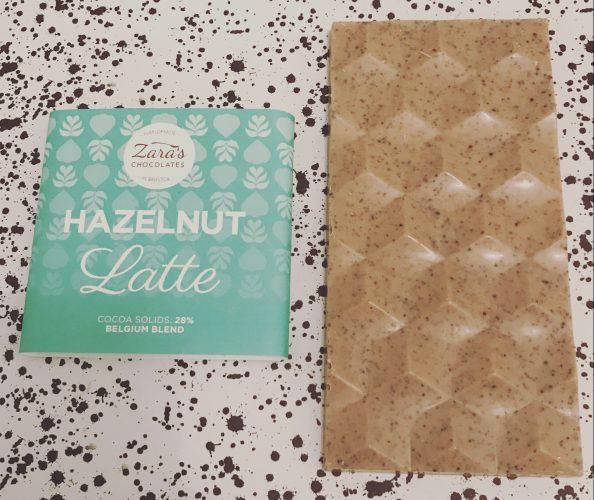 Zaras Chocolates Hazelnut Latte