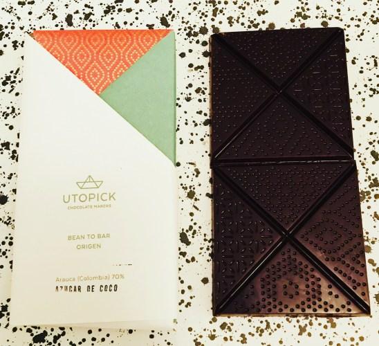 Utopick Chocolate Columbia Bar