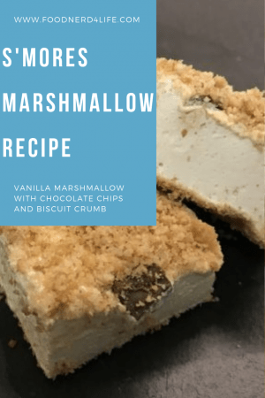 S'mores Marshmallow Recipe Pin with Description
