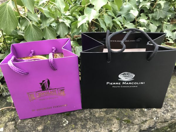 Chocolate Shopping Bags