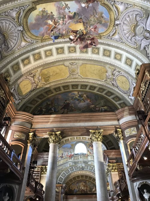 Austrian National Library Ceiling
