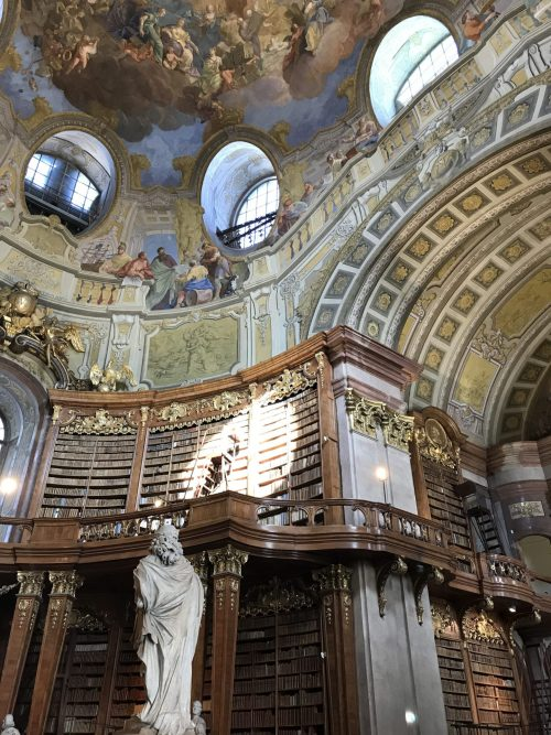 Austrian Nation Library Bookcases