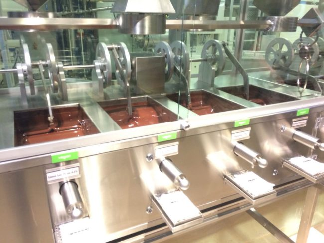 Conching Machines at Zotter