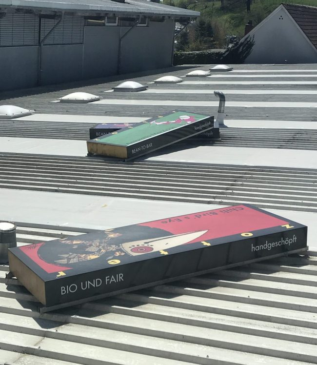 Zotter Bars on The Roof