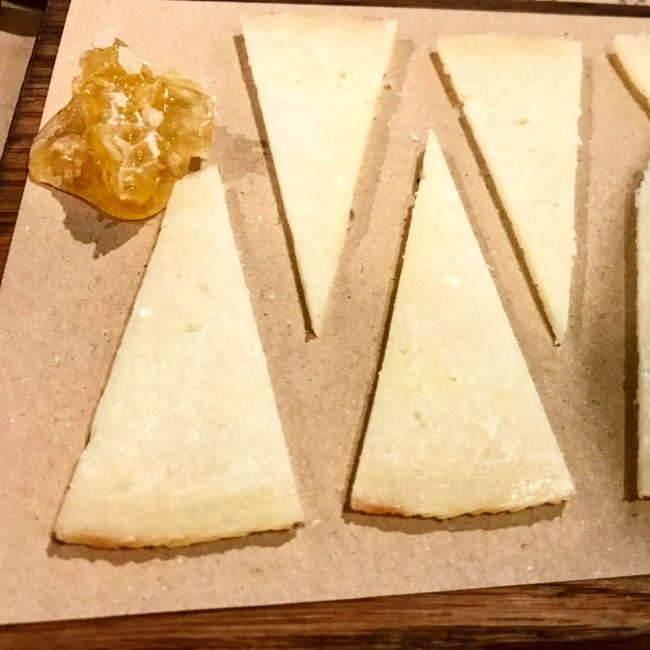 Manchego Cheese with Honey