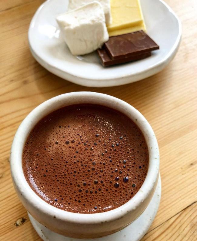 Close Up Shot of 66% Brazil Zara's Hot Chocolate, Bristol