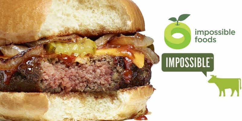 Resultado de imagen para hamburguesa sin carne impossible foods