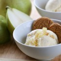 Pear and Ginger Ice Cream