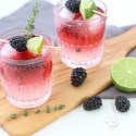 Celebrate National Margarita Day with Blackberry Thyme Margaritas