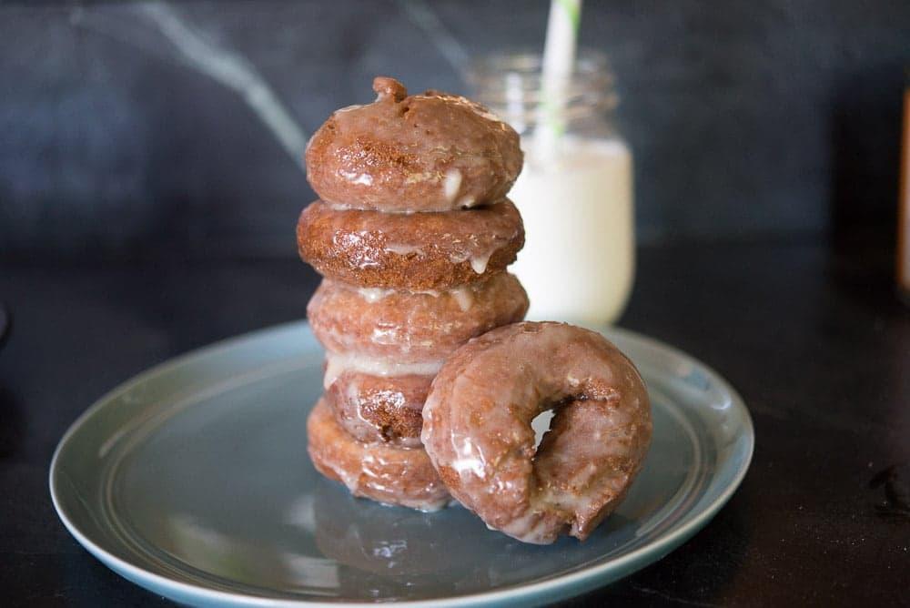 old fashioned buttermilk pumpkin donuts