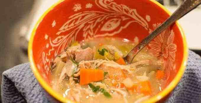 Easy Turkey Soup