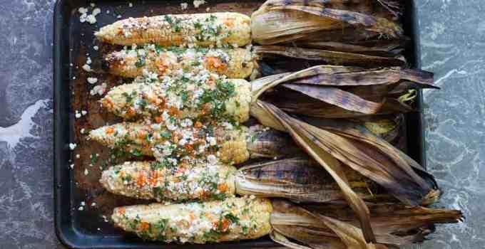Char Grilled Border Corn