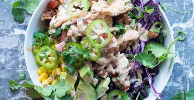 Chipotle Chicken Beast Bowl