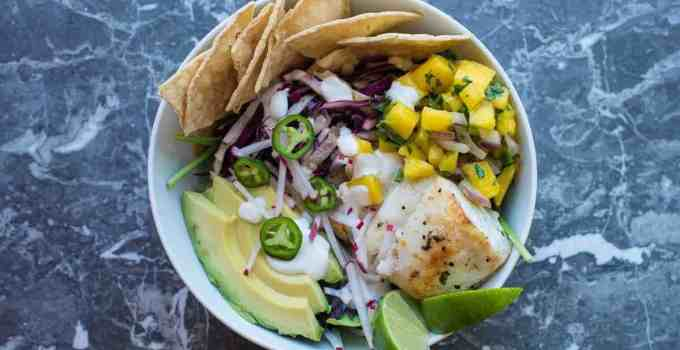 Tequila Lime Fish Taco Beast Bowl