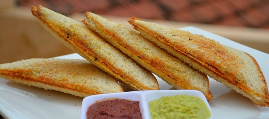 Bombay Toast | Sandwich Recipe with Step by Step Pictures.