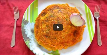 How to Cook Besan Pudla Recipe, Indian Main Course Recipe, Indian Bread Recipe, Indian Cooking Recipes.