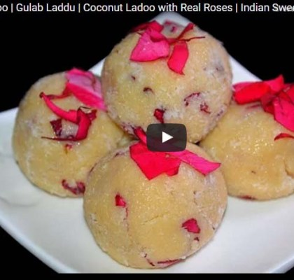 How to Make Coconut Ladoo Recipe, Indian Dessert Recipe.