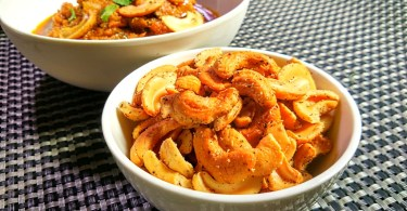 Spicy Cashews, Fried Kaju Recipe,