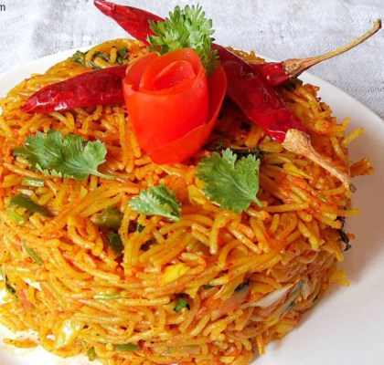 Vermicelli Pulao Recipe, Sevai Pulao Recipe, Semiya Pulao Recipe, How to Make Vermicelli Pulao Recipe, Quick Vermicelli Pulao Recipe, Indian Breakfast Recipe.