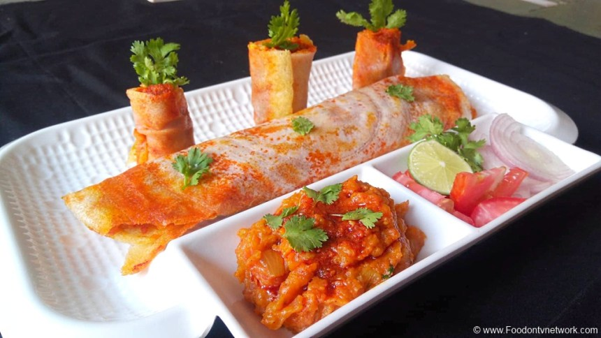 Pav Bhaji Dosa Recipe, Bhaji Pav Dosa Recipe, Dosa Recipe, South Indian Dosa Recipe, Fancy Dosa Recipe, How to Make Pav Bhaji Dosa, Homemade Pav Bhaji Dosa Recipe, Indian Main Course Recipe.