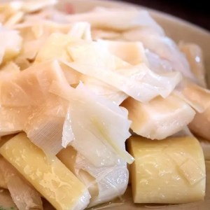 Bamboo Shoots, a rich source of Vitamin B6