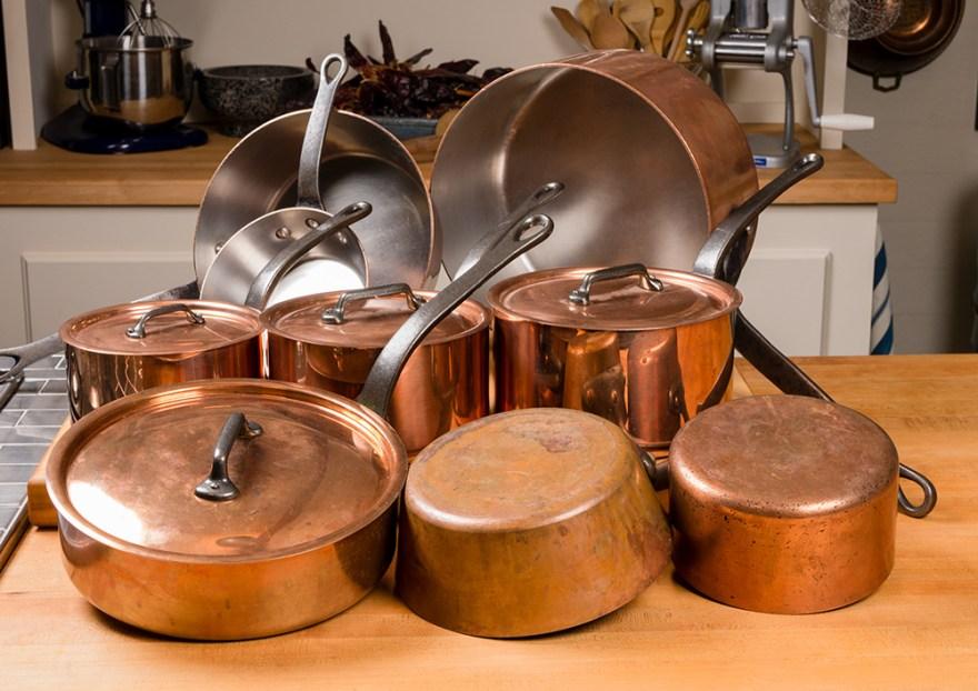 On Set: Copper Pot Collection