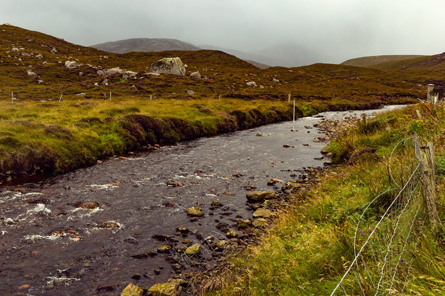 water source for the Red River Distillery in Scotland