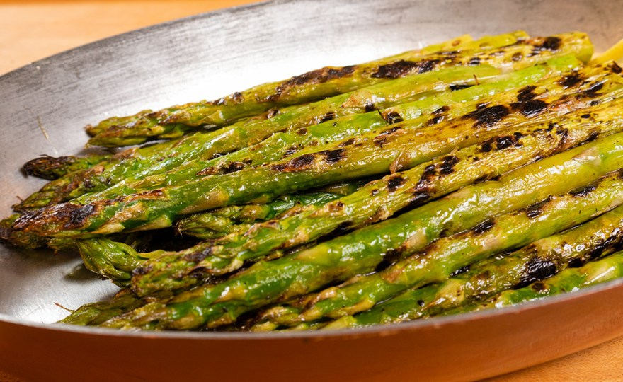 Grilled Asparagus For Poulet Jardin