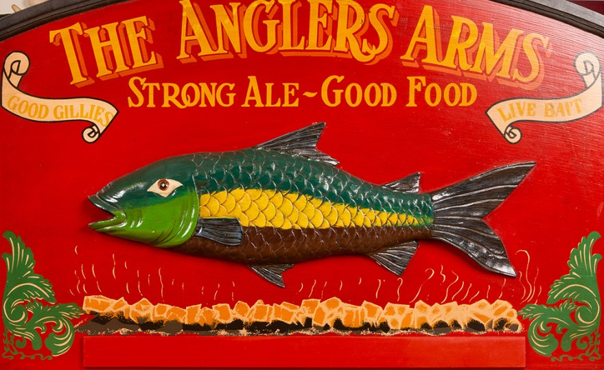 On Set: The Anglers Arms