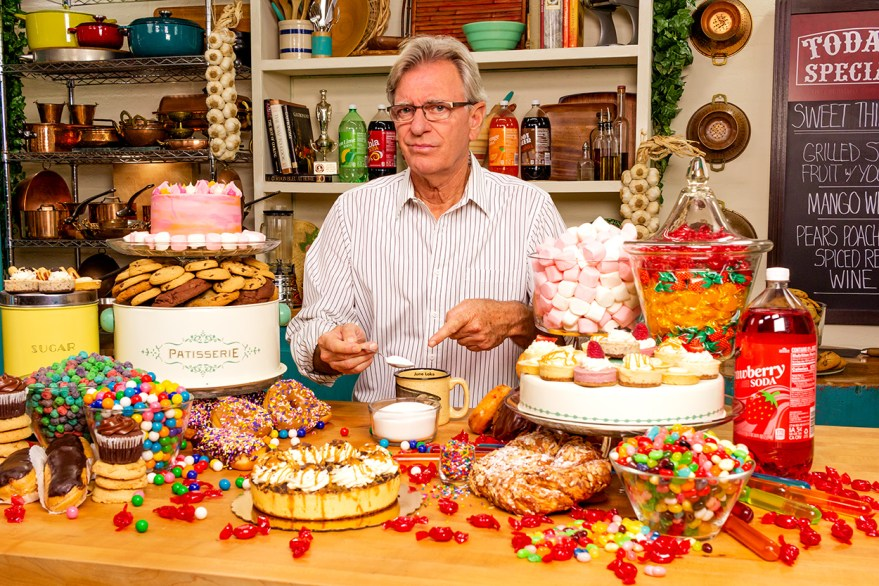 Food Over 50 host David jackson is concerned about consuming too much sugar