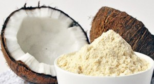 Coconut flour production