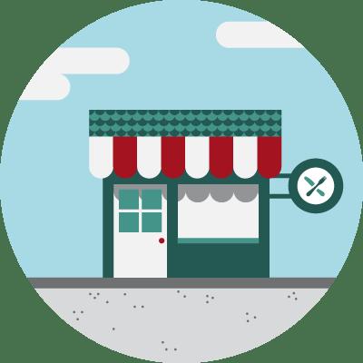 Ristoranti con consegna a domicilio  Foodracers
