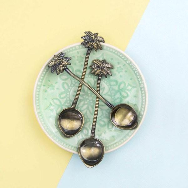 Löffel Palme Vintage