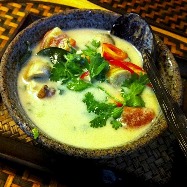 Thai Coconut Chicken Soup Recipe Food Republic