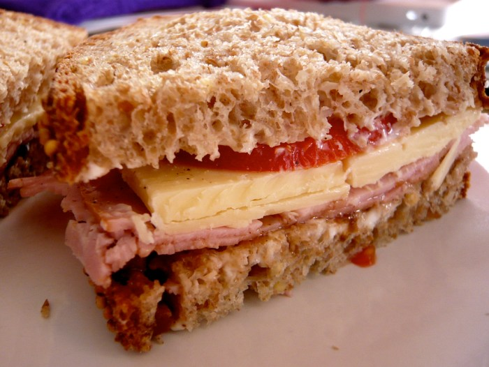 England's Cheese and Pickle Sandwich - Food Republic