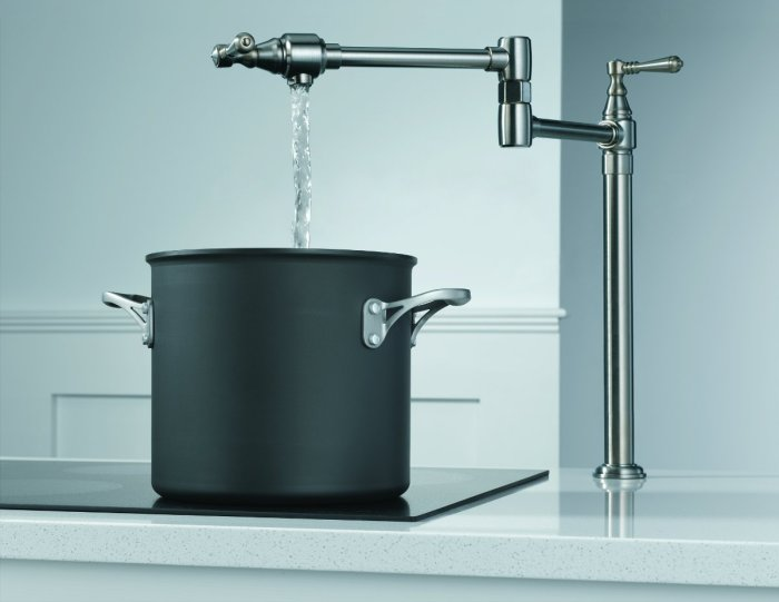 Have You Gotten Your Stovetop Pot Filler Faucet Yet Food Republic