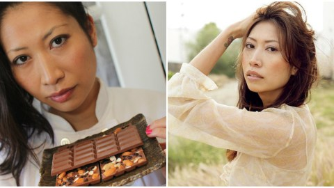 After working for about 15 years as a professional model, Clarice Lam became a pastry chef.