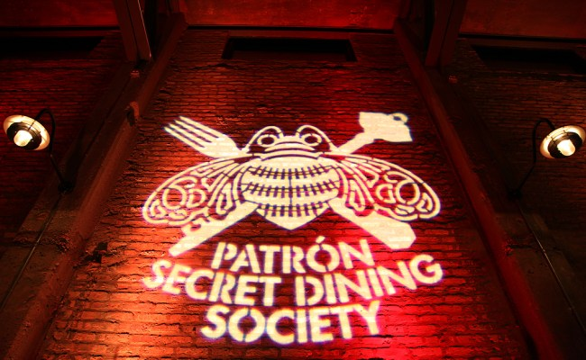 Win Tickets To The Next Patrón Secret Dining Society