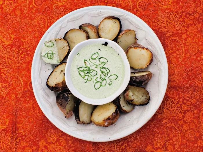 salt roasted potatoes