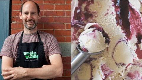 Brian Smith is the man behind Brooklyn's Ample Hills Creamery, which opened in 2011.