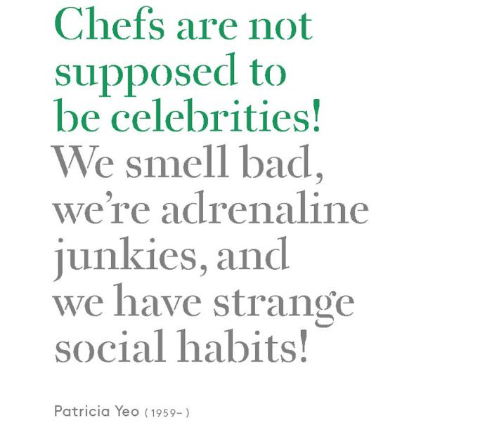 The Best Chef Quotes Ever A New Book piles The Cr¨me De La