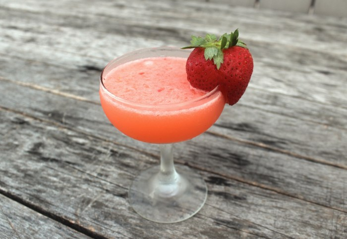 Strawberry and gin never looked so good together.