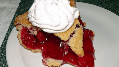 Twede's cherry pie features a crust made with seven ingredients, including a lot of butter. (Photo: scumdogsteev on Flickr)